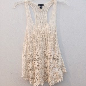 Crochet Cover Up/Tank Top